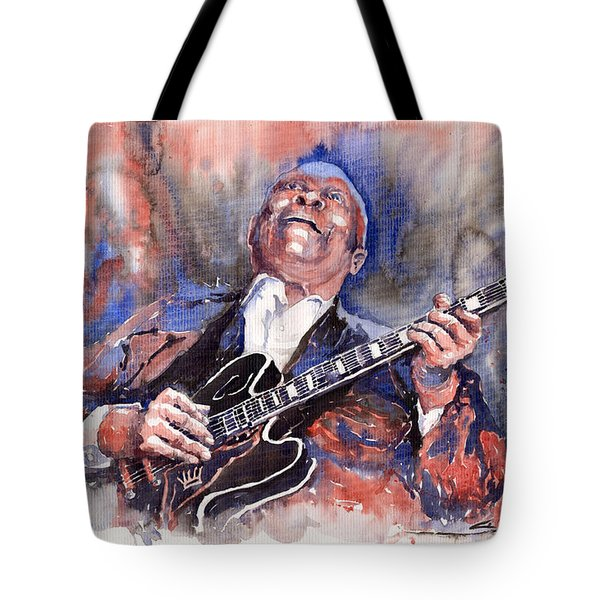 Jazz B B King 05 Red A Tote Bag