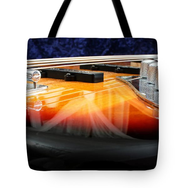 Jazz Bass Beauty Tote Bag