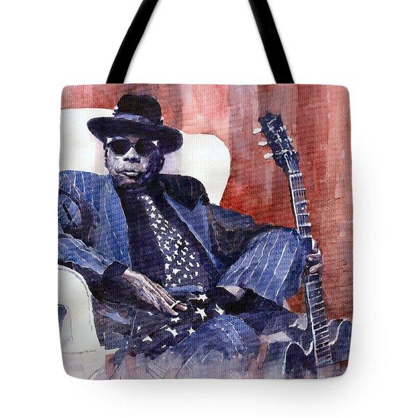 Jazz Bluesman John Lee Hooker 02 Tote Bag
