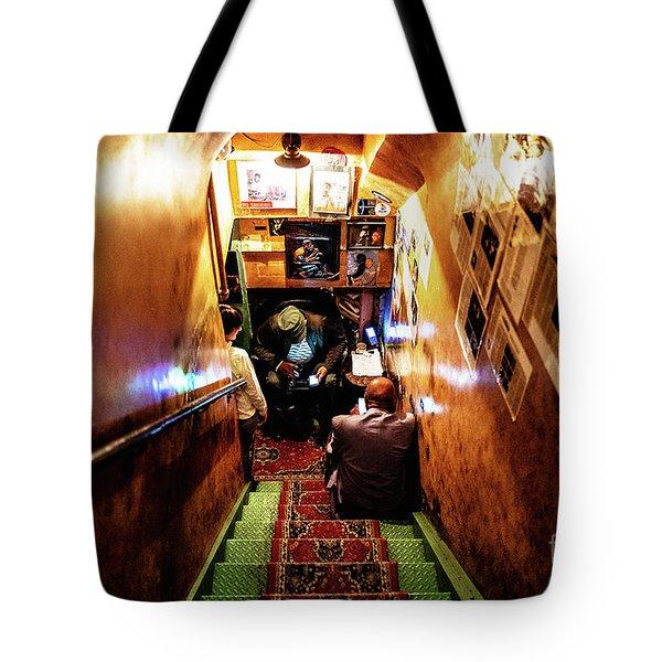 Jazz Club Tote Bag