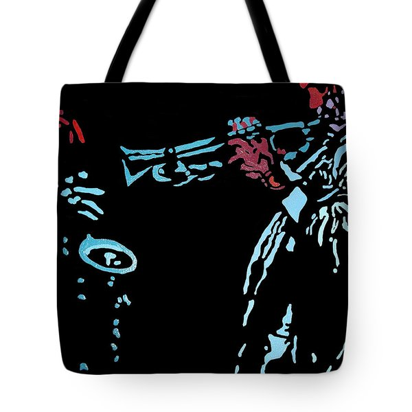 Jazz Duo Tote Bag