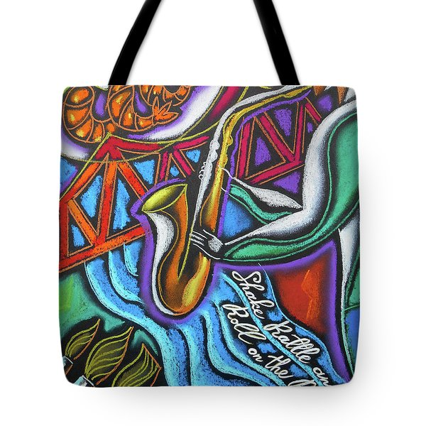 Jazz, Food And Art Festival Tote Bag
