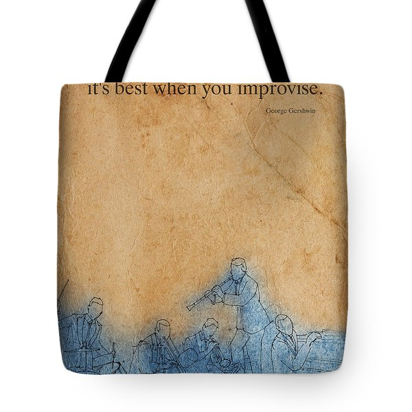 Jazz - Gershwin Tote Bag