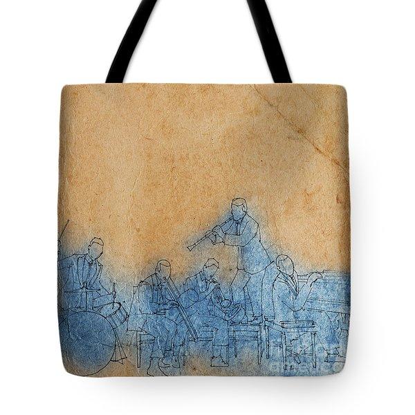Jazz - Gershwin Tote Bag
