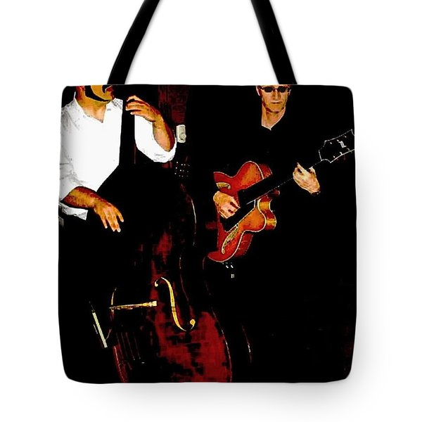 Jazz Musicians Tote Bag by Sadie Reneau