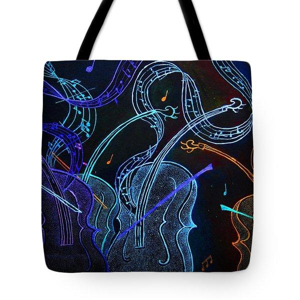 Jazz N Blues Tote Bag