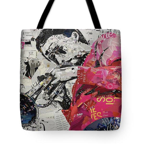 Jazz Notes Tote Bag