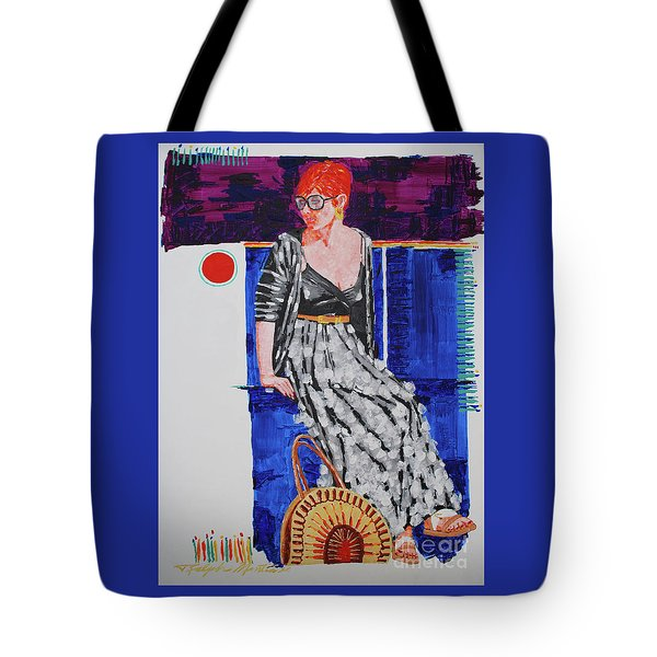Jazz On The Square Tote Bag