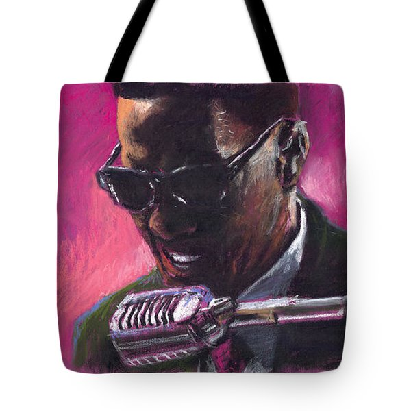 Jazz. Ray Charles.1. Tote Bag by Yuriy  Shevchuk