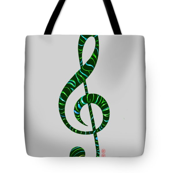 Jazz T Tote Bag