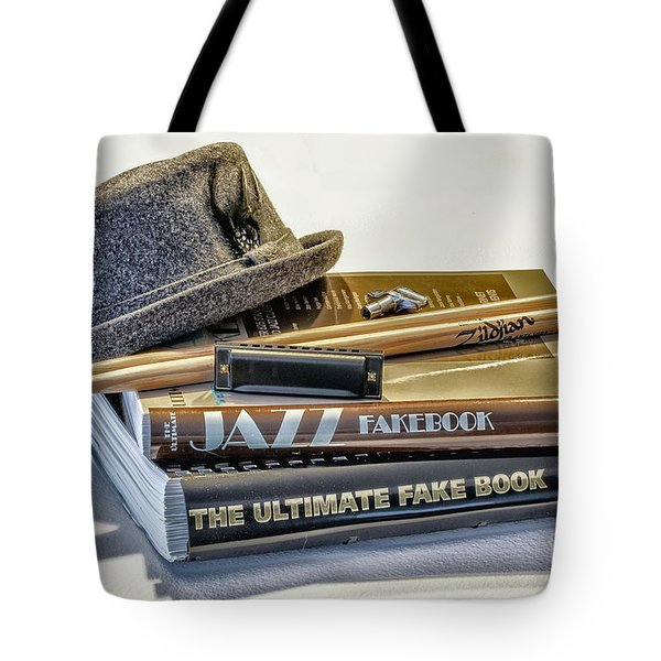 Tote Bag featuring the photograph Jazz by Walt Foegelle