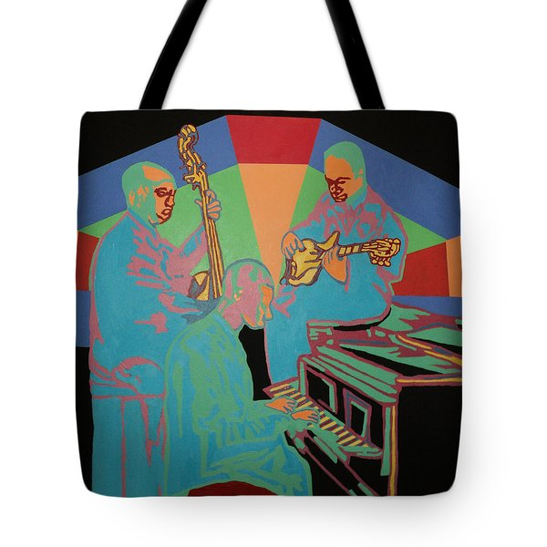 Jazzamatazz Band Tote Bag