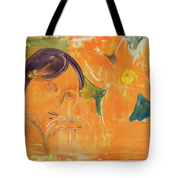 Je Revien Tahiti Tote Bag