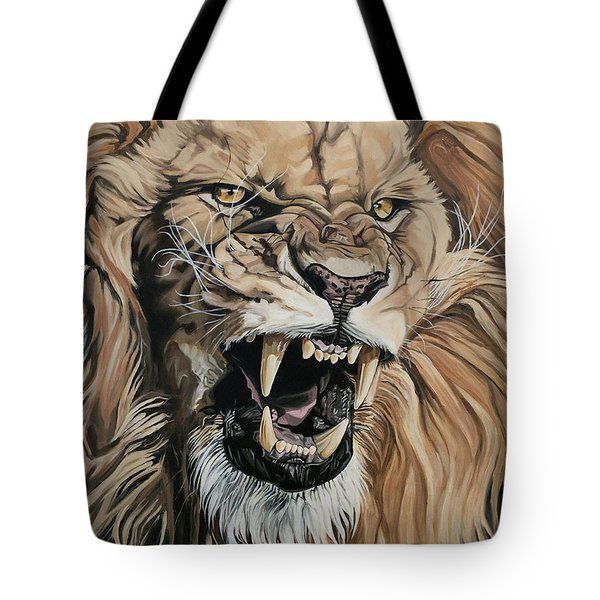 Jealous Roar Tote Bag