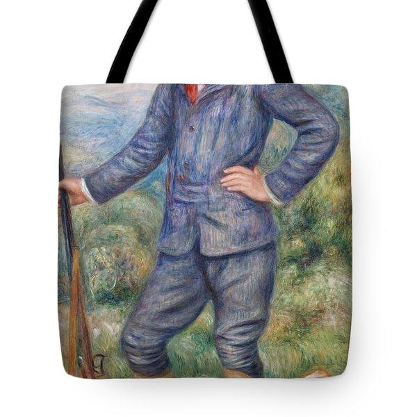 Jean As A Huntsman Tote Bag