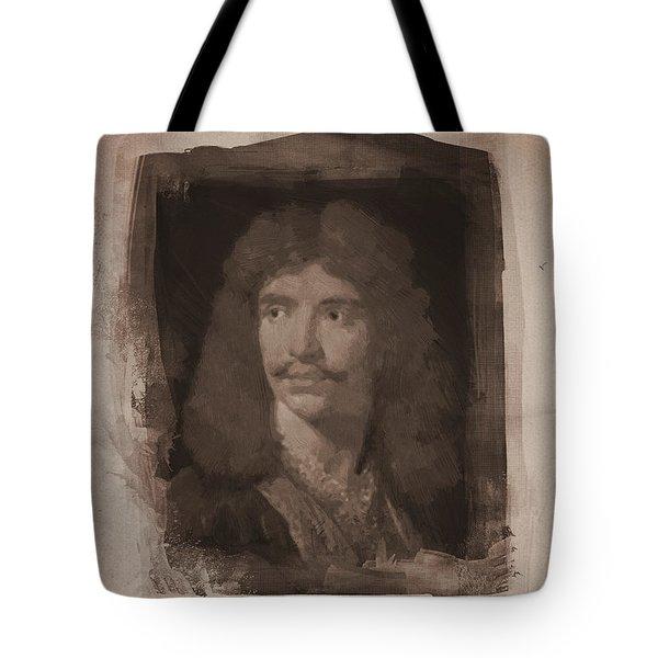 Jean Baptiste Moliere Tote Bag