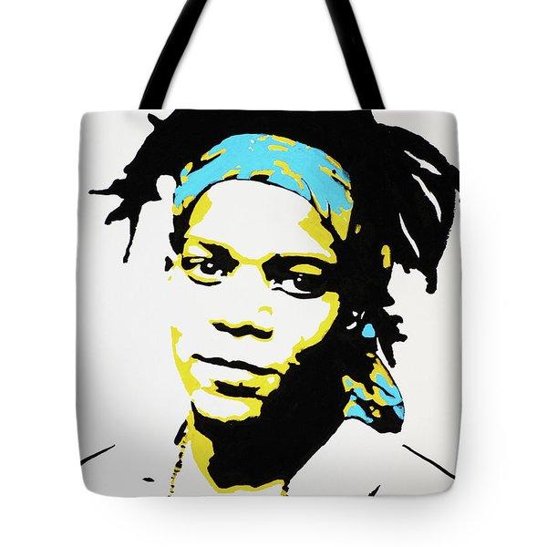 Jean-michel Basquiat Tote Bag