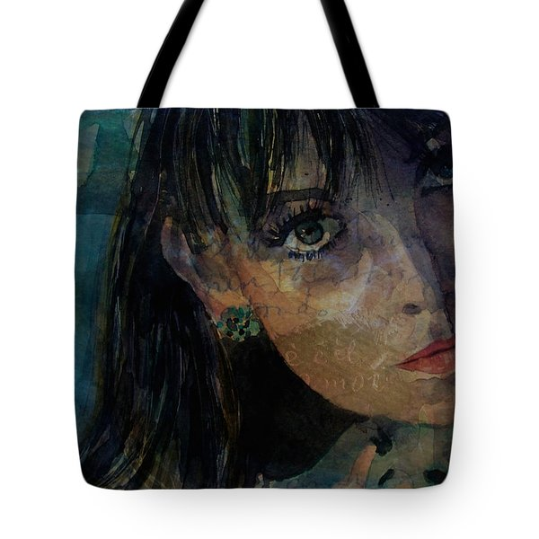Jean Shrimpton Tote Bag