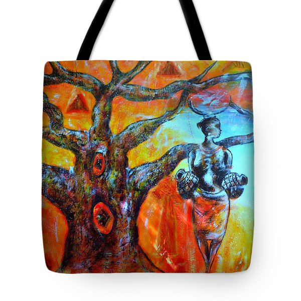 Jeanilia Tote Bag by Fania Simon