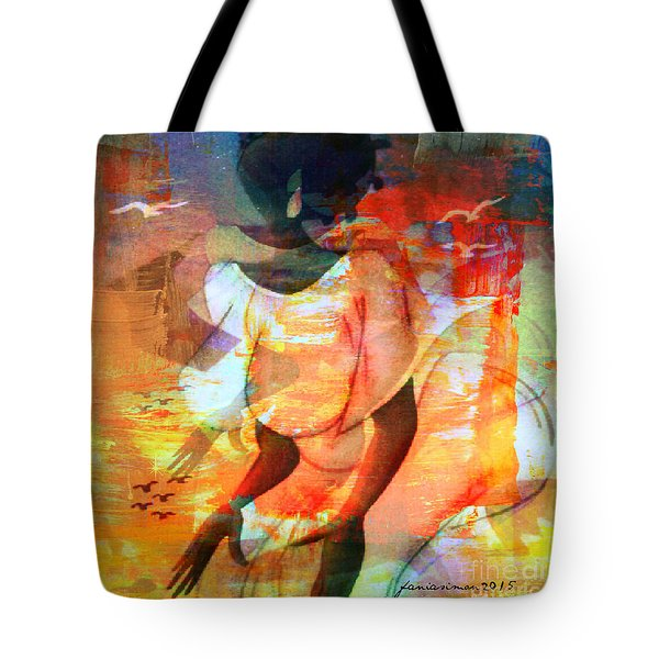 Jeanine Tote Bag by Fania Simon