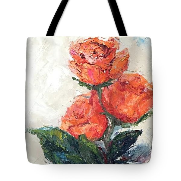 Jeannie's Roses Tote Bag
