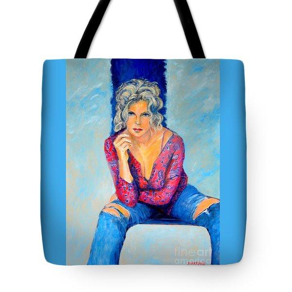 Jeans II Tote Bag by Dagmar Helbig