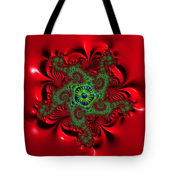 Tote Bag featuring the digital art Jectudgier by Andrew Kotlinski