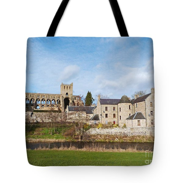 Jedburgh Abbey Tote Bag