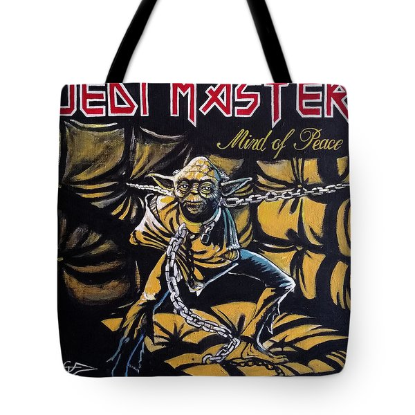 Jedi Master - Mind Of Peace Tote Bag by Tom Carlton