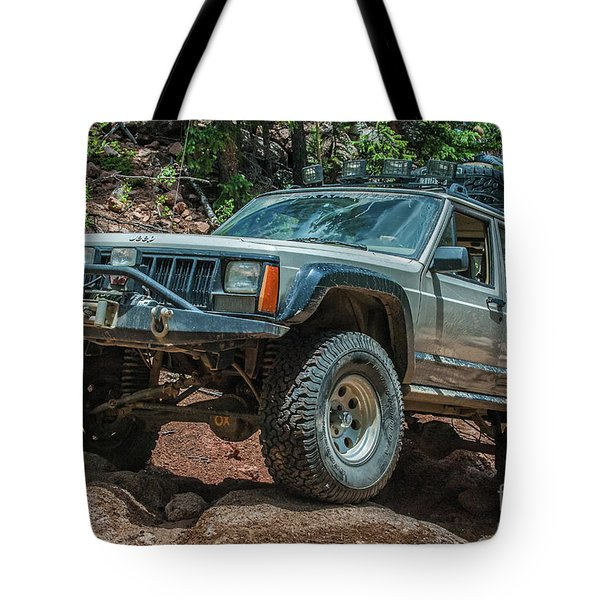 Jeep Cherokee Tote Bag