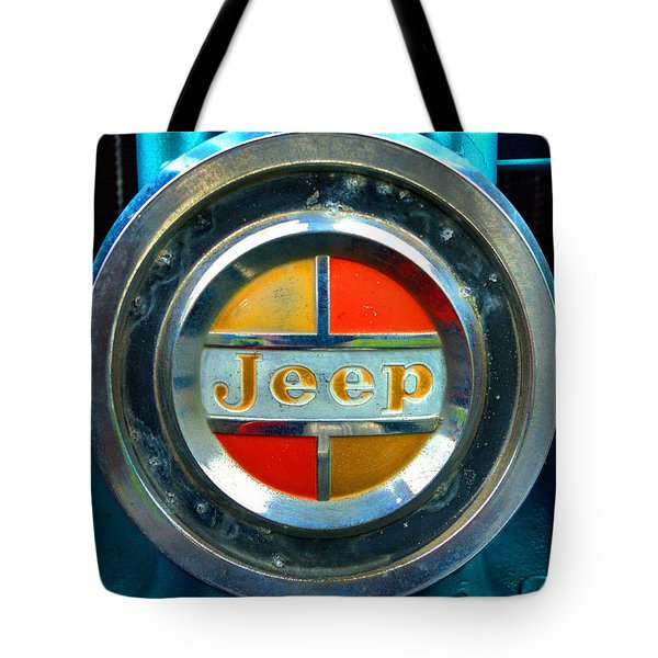 Jeep Logo 192 Tote Bag