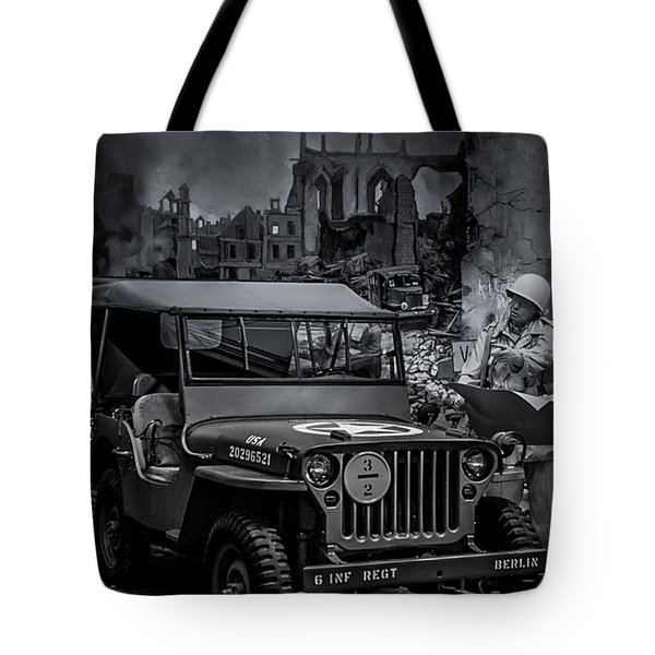 Jeep Tote Bag