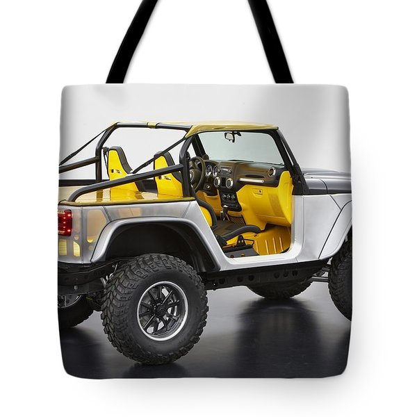 Jeep Safari Tote Bag