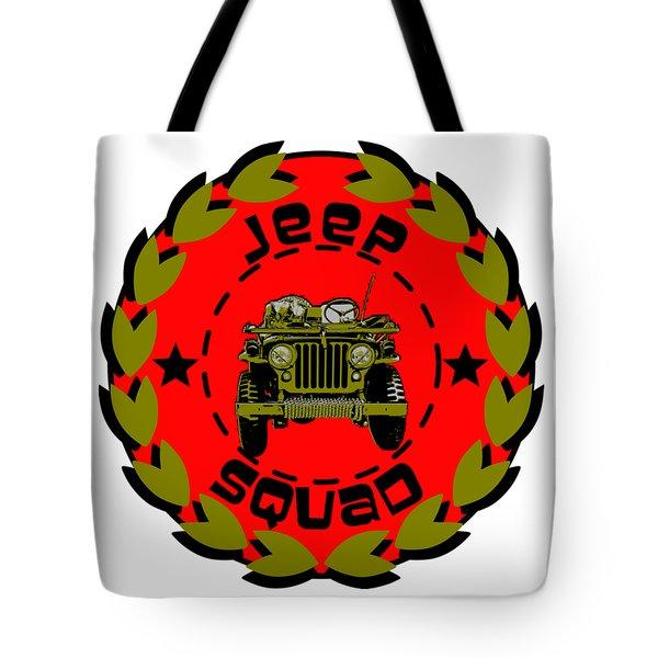 Jeep Squad Tote Bag