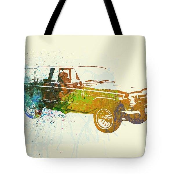 Jeep Wagoneer Tote Bag by Naxart Studio