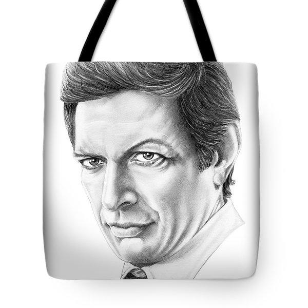 Jeff Goldblum Tote Bag by Murphy Elliott
