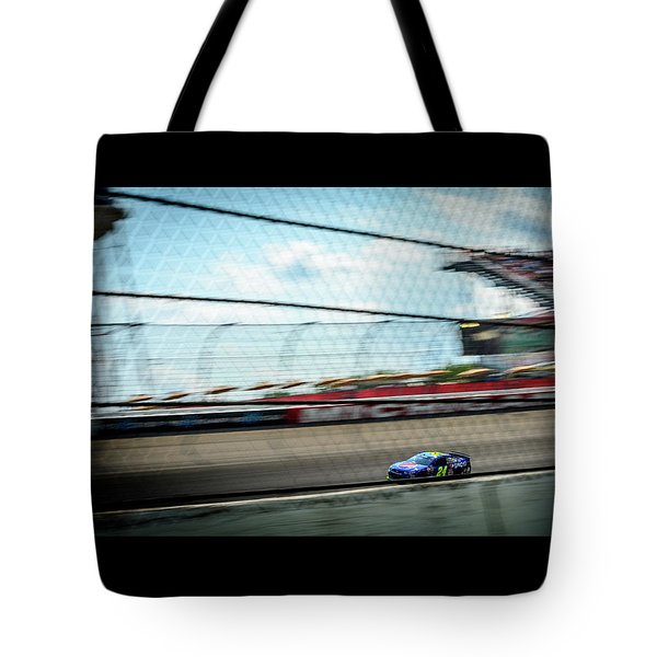 Jeff Gordon's Last Race At Mis Tote Bag
