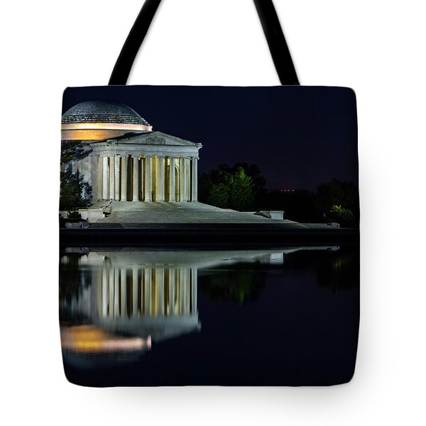The Jefferson At Night Tote Bag