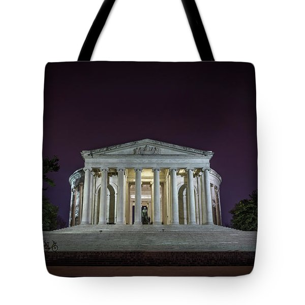 Jefferson At Night Tote Bag