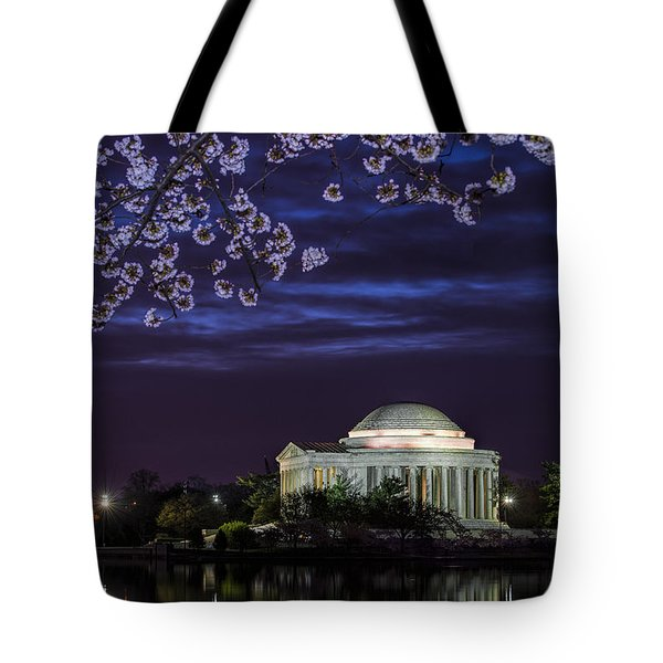 Jefferson Cherry Sunrise Tote Bag