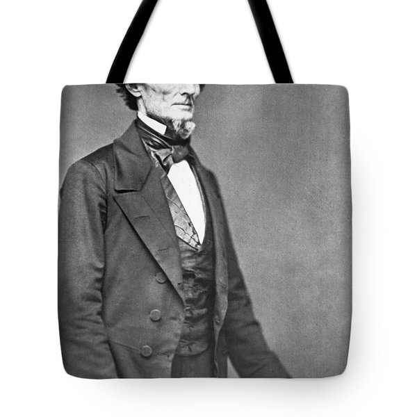 Jefferson Davis Tote Bag by American Photographer
