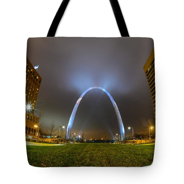 Jefferson Expansion Memorial Gateway Arch Tote Bag