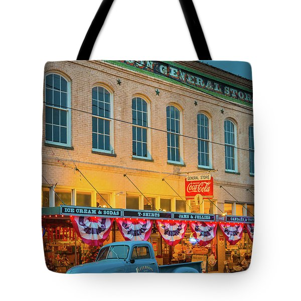 Jefferson General Store Tote Bag by Inge Johnsson