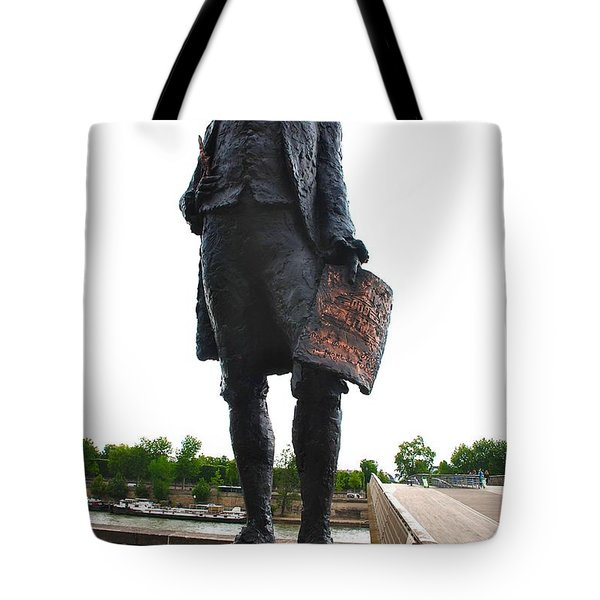 Jefferson In Paris Tote Bag