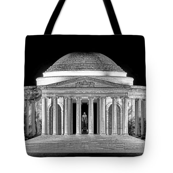 Jefferson Memorial Lonely Night Tote Bag