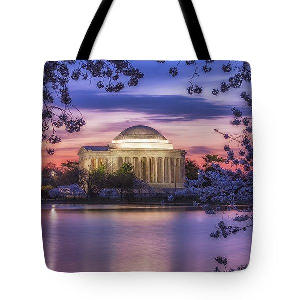 Jefferson Memorial Pre-dawn Tote Bag