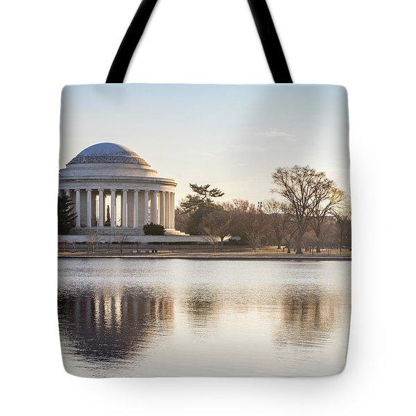 Jefferson Morning Tote Bag