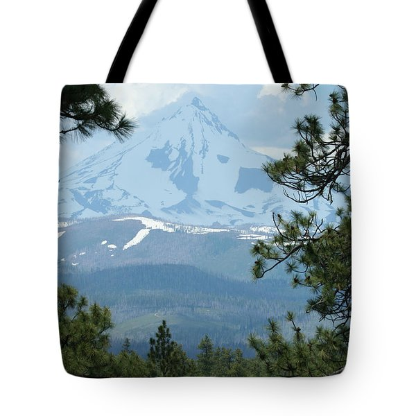 Tote Bag featuring the photograph Jefferson Pines by Laddie Halupa