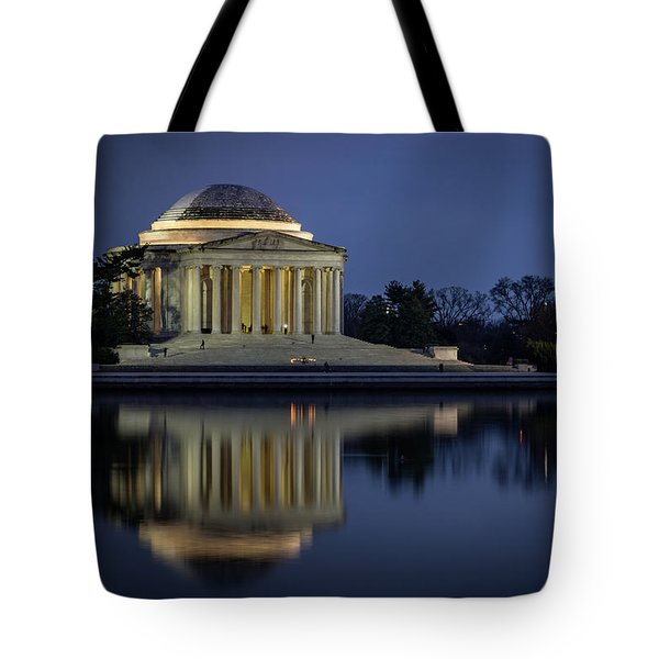 Jefferson Reflecting Tote Bag