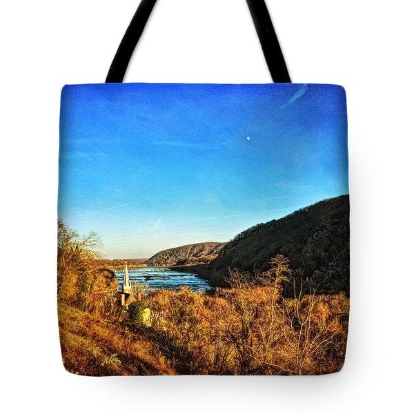 Jefferson Rock Tote Bag